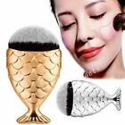 Mermaid Tail Fish Scale Cosmetic Brush Powder Cream Makeup Foundation Blusher