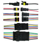 1 2 3 4 5 6 Pin Way Car Waterproof Electrical Connector Plug Wire AWG Kit HY