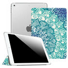 "For New iPad 5th Generation 9.7"" 2017 Smart Case Translucent Frosted Back Cover"