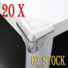 20 X Child Baby Safety Silicone Protector Table Corner Edge Protection Cover