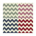 8mm Chevrons Stripes Lines Linen Look Cotton Fabric Patchwork