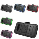 Hybrid Armor Hard Case Cover Stand Holster For Samsung Galaxy Core Prime