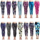 Women's Yoga Gym Running Athletic Pants Print Stretch Quick Dry Fitness Leggings