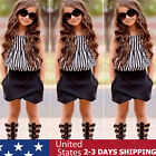 2PCS Child Kids Toddler Baby Girls Outfits Clothes T-shirt Tops Shorts Pants Set