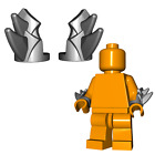 Custom BLADED VAMBRACES Arm Armor for Lego Minifigures STEEL, BLACK, or GOLD