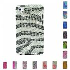 For iPod Touch 4th Generation Case Diamond Bling Luxury Fashion Cute Hard Cover
