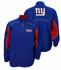 Reebok NFL Men's New York Giants Active Zip Up Fleece, Blue