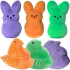 "Set of 3 Plush 6"" Peeps Bunnies or Chicks Cute Soft Stuffed Animal Toys Easter"