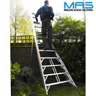 Fruit Picking Ladder-  Groundsman Ladder -Garden - Aluminium- UK Manufactured