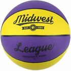 Best Basketballs - Midwest Yellow & Purple League Basketball Indoor Review