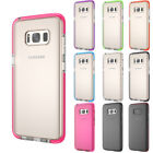 For Samsung Galaxy S8/+ Hybrid Shockproof Impact Clear Classic Soft TPU Case New