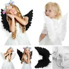 NEW Kids Girls Feather Fairy Angel Wings Christmas Halloween Party Costume - LD