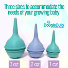 BoogieBulb  CLEANABLE Baby Nasal Aspirator Nose Bulb Snot Sucker Ear Syringe
