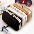 NEW Women Leather Evening Bag Handbag Party Cocktail Prom Clutch Chain Bag Purse