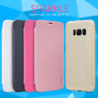 Genuine Nillkin Sparkle PU Leather Flip Cover Case For Samsung Galaxy S8 /Plus