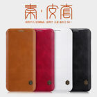 For Samsung Galaxy S8+ Genuine Nillkin Slot Card PU Leather Flip Slim Cover Case