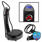 OPEN BOX - Dual Motor Whole Body Vibration Plate Exercise Machine - Black