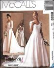 8559 UNCUT Vintage McCalls Sewing Pattern Misses Wedding Bridal Gown Dress OOP