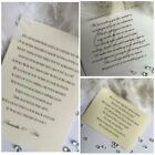 Gift Poem Cards Gift Wish for wedding, Money, Honeymoon Poem personalised A7