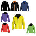 Womens Result Core Slim Fit Full Zipped Printable Softshell Jacket Size XS-2XL