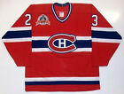 BRIAN BELLOWS MONTREAL CANADIENS 1993 CUP CCM MASKA JERSEY