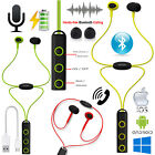 Magnetic Wireless Bluetooth 4.2 Headphones Sound Stereo Running Earphones + Mic