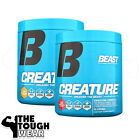 BEAST SPORTS NUTRITION - CREATURE POWDER 30serv - 2 Flavors - Creatine Complex