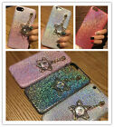 For iPhone 7 6S Plus Girly PENDANT Bling CRYSTAL Sequins Glitter Soft TPU Case