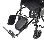 Drive Medical Steel Elevating Footrest / Leg Rest for Wheelchairs (Choose Side)