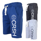 Crosshatch Mens Janter Jogging Shorts Designer Gym Running Sport Active Joggers