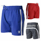Crosshatch Mens Brekkon Designer Branded Mesh Lined Beach Pool Swimming Shorts