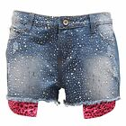 4946S pantalone corto donna GIO CELLINI DENIM short woman