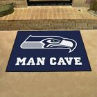 Seattle Seahawks Man Cave Area Rug Choose 4 Sizes