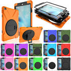 Heavy Shockproof Stand Hybrid Armor Case Screen Protective Cover For iPad 2 3 4