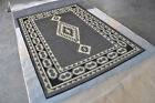 Area Rug Carpet Indoor Outdoor Hand Crafted Carved Rugs H10