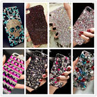 Crystal Bling Diamond Rhinestone Bumper Back Case Cover For iPhone 6s 7 Plus 5S