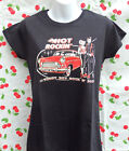 Ladies Teddy Boy Rock`n`Roll Tee Shirt, T.Shirt, Vince Ray  Ford Consul, Rocker.