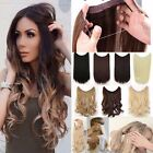 UK Secret Headband Wire in Natural Hair Extensions Invisible As Human Hair kckyr