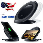 Fast Qi Wireless Charger Charging Pad Stand Dock for Samsung Galaxy S8/S7 Edge