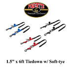 "Powertye 1.5"" x 6ft Ratchet Strap Tie Downs Cruiser Chopper Bobber Triumph $48.75 USD"