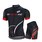 Men's Cycling Clothing Kits Racing Bike Bicycle Jersey & 3D Gel Shorts Set M-XXL