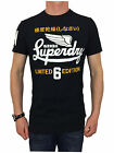 Superdry Mens Limited Icarus Tee T-Shirt in Eclipse Navy Blue