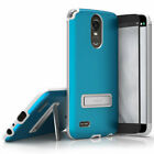 For LG Stylo 3 LS777 ZIZO ELITE Case Magnetic Kickstand Metallic Hybrid Cover