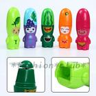Mini Useful Cartoon Fruit Handheld Cooling Fan Mute Battery Operated Cooler