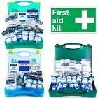 PREMIUM 1-50 EMPLOYEE HSE APPROVED FIRST AID CATERING/WORKPLACE KIT+Wall Bracket