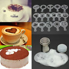 Stainless Steel Chocolate Shaker Duster & 16x Cappuccino Coffee Barista HGUK