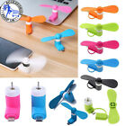 Mini Portable Power Micro Cool Fan For IPhone 5 6 6S 7 Plus Android Phone Tablet