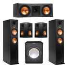 Klipsch 5.1 System with 2 RP-260F Tower Speakers, 1 RP-250C Center Speaker, 2 Kl