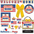 Welcome Home USA Patriotic Party Tableware Decorations Supplies