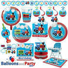 All Aboard Trains 1st Birthday Party Tableware Decorations S